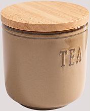 Barattolo da tè Treska Latte marrone Cerámica -