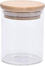 Barattolo di vetro con coperchio con scatola