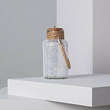 Barattolo di Vetro LED Firefly Bianco