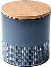 Barattolo in ceramica ermetica con coperchio di