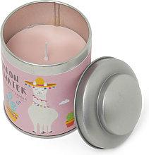 Barattolo in latta con candela profumata - Alon