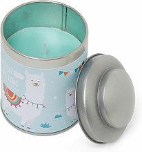 Barattolo in latta con candela profumata - Fresh
