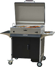 Barbecue A Gas Con Griglia In Acciaio Bk 8 Cortina