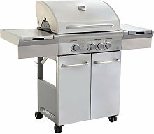Barbecue A Gas In Acciaio Inox 3 Fuochi + 1