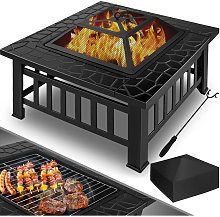 Barbecue da esterno Braciere Riscaldamento Camino