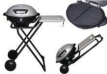 Barbecue Portatile Elettrico Rotondo Esterno da