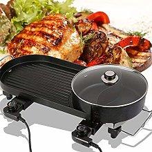 Barbecue Portatile,Padella Antiaderente per