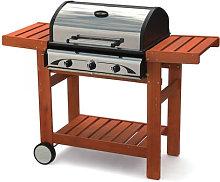 Barbecue Profy 3 inox