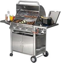 Barbecue Texas 3 Gas Grill Inox Sunday