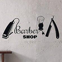 Barber Shop Decalcomania Da Muro Taglio Di Capelli