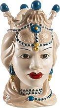Baroni Home Testa di Moro in Porcellana Stile