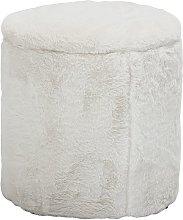 Barthe pouf bianco