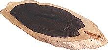 Base per Bonsai Vaso In Legno Base Ebony Slice