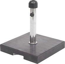 Base piede per ombrellone quadrata HWC-F92 granito