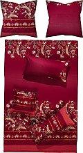 Bassetti Biancheria da letto CIVITA R1 rosso 155 x