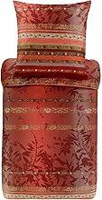 Bassetti Biancheria da letto Malve R1 rosso, 155 x