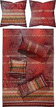 Bassetti Biancheria da letto MALVE R1, rosso, 200