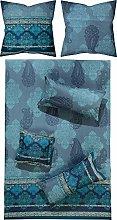 Bassetti - Biancheria da letto MURGIA B1, blu, 200