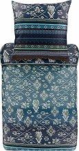 Bassetti Biancheria da letto Olbia B1 blu 135 x