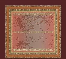 Bassetti Malve R1 - Tovaglia rossa 110 x 110 cm