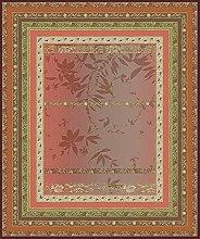 Bassetti Malve R1 - Tovaglia rossa, 140 x 170 cm