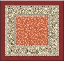 Bassetti Tovaglia, Colore: Arancione, 110x110