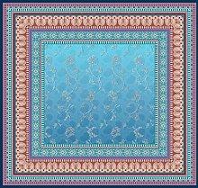 Bassetti Tovaglia in cotone, colore: blu, 110 x