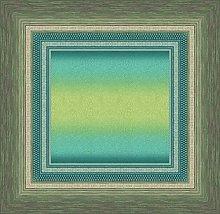 Bassetti Tovaglia in cotone, verde 170 x 170