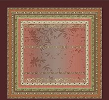 Bassetti Tovaglia Malve R1 rosso 170 x 170 cm