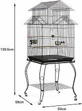 BATHRINS®Gabbia per uccelli,59 x 59 x 139,5 cm