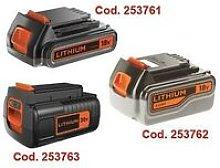 Batterie b+d litio compatibili con utensili