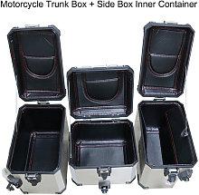 Baule moto + scatola laterale contenitore interno