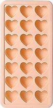 BAWAQAF - Stampo in silicone a forma di cuore, per