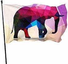 BDGHTDARED - Bandiera astratta colorata da