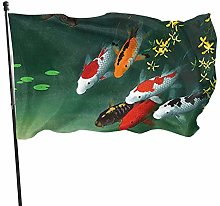 BDGHTDARED - Bandiera colorata da giardino con