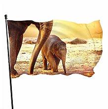 BDGHTDARED - Bandiera da giardino con animali