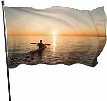 BDGHTDARED - Bandiera da giardino con bandiera del