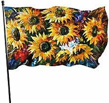 BDGHTDARED - Bandiera da giardino con motivo