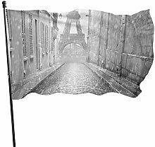 BDGHTDARED - Bandiera da giardino con ombrello