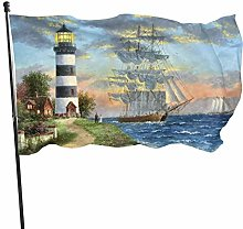 BDGHTDARED - Bandiera da giardino con paesaggio