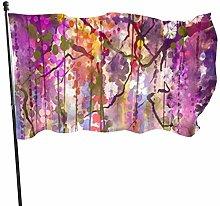 BDGHTDARED - Bandiera da giardino moderna con