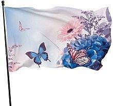 BDGHTDARED - Bandiera per giardino primaverile,