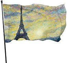 BDGHTDARED - Bandiera vintage da giardino con