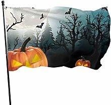 BDGHTDARED - Lanterna a zucca con bandiera del