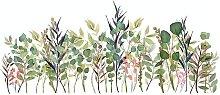Bearsu - Adesivo murale rimovibile Piante fresche