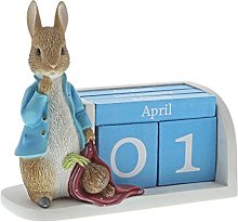 Beatrix Potter A28346 - Calendario perpetuo Peter