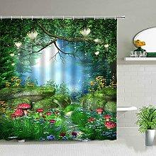 Beautiful Wing Elves Girl Set di tende da doccia