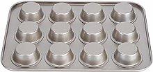 Bediffere, stampo per muffin da 12 tazze,