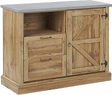 Beliani - Credenza in colore legno chiaro TORONTO