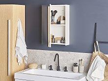 Beliani - Mobiletto a specchio da bagno PRIMAVERA